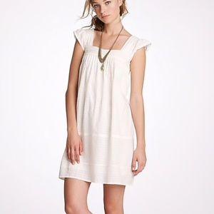 J. Crew Arianna Woven Check Cotton Dress